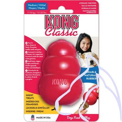Jouets Chiens Kong TOY rouge Medium