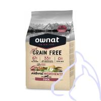OWNAT Just Grain Free Canard, 3 kg