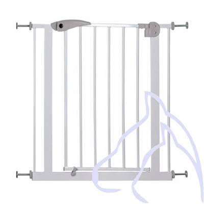 Barrière Pour Chiens Métal 7585 76 Cm Blanc