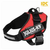 Harnais Power Julius-K9® IDC 2/L–XL: 71–96 cm/50 mm, rouge