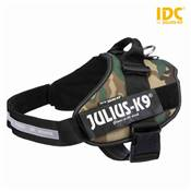 Harnais Power Julius-K9® IDC 3/XL–XXL: 82–115 cm/50 mm, camouflage