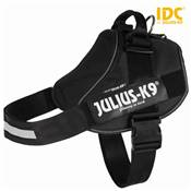 Harnais Power Julius-K9® IDC 4/XXL: 96–138 cm/50 mm, noir