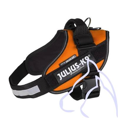 Harnais Power Julius-K9® IDC, 2/L–XL: 71–96 cm/50 mm, orange cuivré