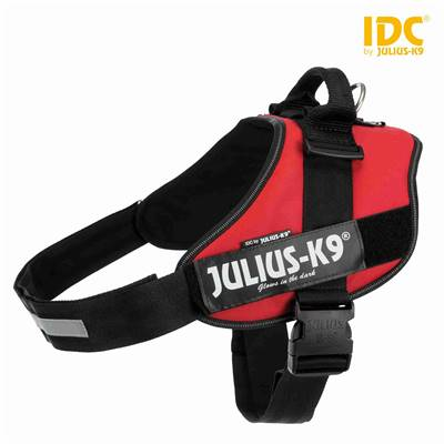 Harnais Power Julius-K9® IDC 4/XXL: 96–138 cm/50 mm, rouge