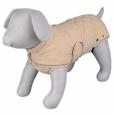 Manteau 'King of Dogs', Taille S, V38-52 x L40 cm, beige