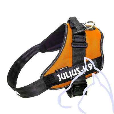 Harnais Power Julius-K9® IDC, 3/XL: 82–115 cm/50 mm, orange cuivré