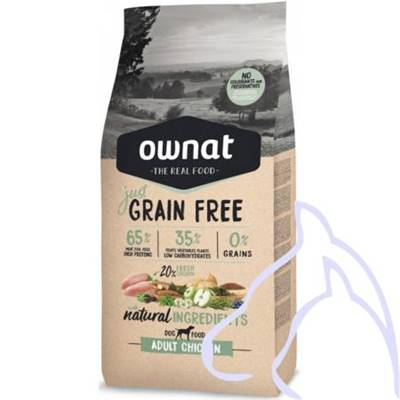 OWNAT Just Grain Free Poulet, 14 kg