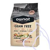 OWNAT Just Grain Free Poisson, 3 kg